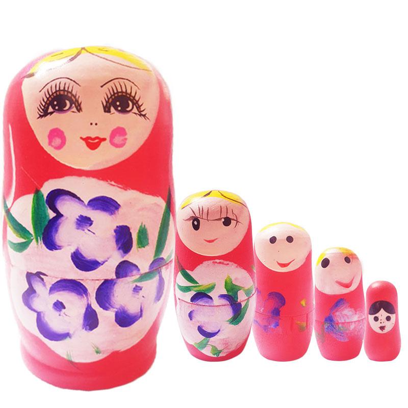 행운의 마트료시카 핑크제니 5pcs 1set